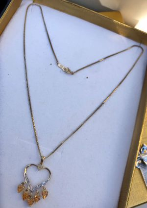 14k gold necklace 🎁 for Sale in Los Angeles, CA
