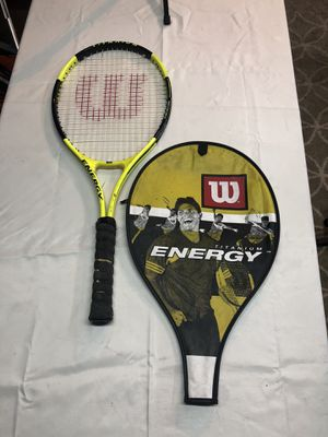 Wilson Energy tennis racket and case for sale for Sale in Orlando, FL