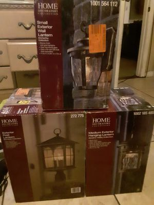 Home Decor Collection Lanterns for Sale in Las Vegas, NV