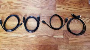 DisplayPort and HDMI cables bundle for Sale in El Monte, CA