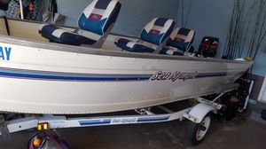 Sea nymph deep v with 9.9 johnson for Sale in Cleveland, OH
