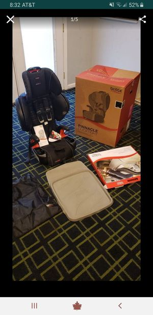 BRITAX Pinnacle Clicktight car seat for Sale in Mount Airy, MD