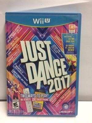 Nintendo Wii U just dance 2017 for Sale in Ridge Farm, IL