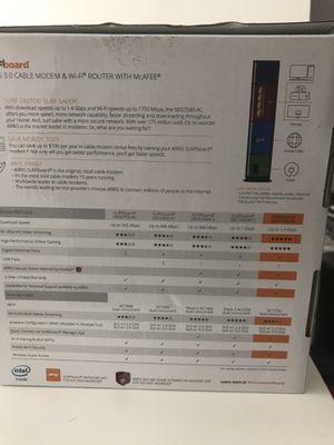 ARRIS Surfboard SBG7580AC Docsis 3.0 Cable Modem for Sale in Shreveport, LA