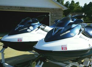 Pair (2)Seadoo GTX155 withTRAILER! for Sale in Lincoln, NE