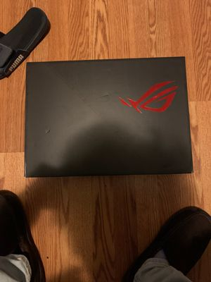 "ASUS - ROG GU502GV 15.6"" Gaming Laptop - Intel Core i7 - 16GB Memory - NVIDIA GeForce RTX 2060 - 1TB SSD + Optane - Brushed Metallic Black for Sale in Gaithersburg, MD"