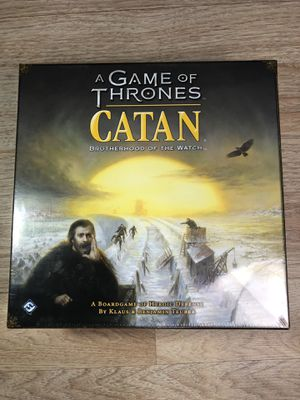 A Game of Thrones Catan: Brotherhood of the Watch Brand New Sealed! for Sale in Belmont, CA