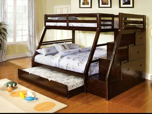 Twin full bunk bed for Sale in Los Angeles, CA
