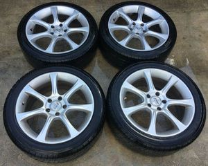 "AFTERMARKET RIMS SPORT EDITION 18"" INCH WHEEL RIMS W/ TIRES (SET OF 4) for Sale in Fort Lauderdale, FL"