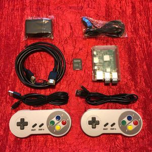 -ON SALE- Raspberry PI 3 gaming system w/ 2 WIRELESS controllers(64 GB) for Sale in Houston, TX