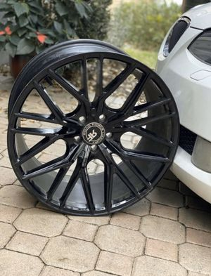 """Luxury 20"""" Road Force Gloss Black Rims (4 piece Set)!! for Sale in Margate, FL"""