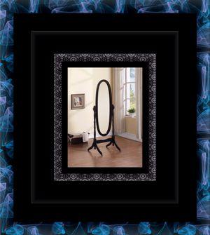 Black swivel oval mirror for Sale in Alexandria, VA