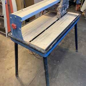 Tile wet saw for Sale in Fort Myers, FL