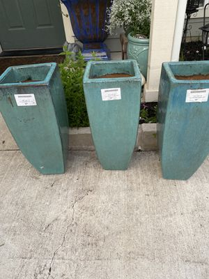 Brand new planters set of 3 for Sale in Dallas, TX