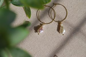 Handmade freshwater baroque pearl for Sale in Union City, CA