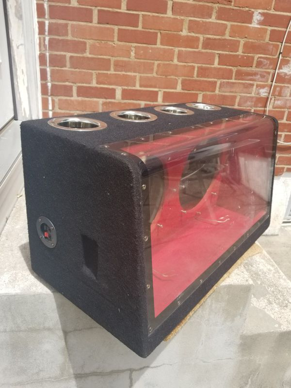 "SUBWOOFER SPEAKER BOX 12"" USED!!"