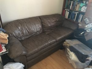 Leather Sofa for Sale in San Jose, CA