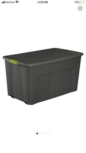 45 gallon storage bin for Sale in Baltimore, MD