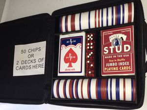 Full Poker/ Card Game Set for Sale in Raleigh, NC