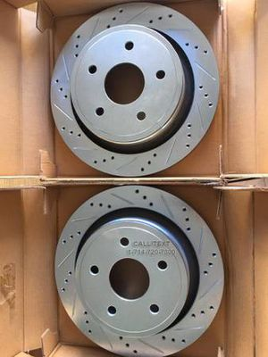 CROSS DRILLED AND SLOTTED BRAKE ROTORS FOR ALL VEHICLES for Sale in Garden Grove, CA