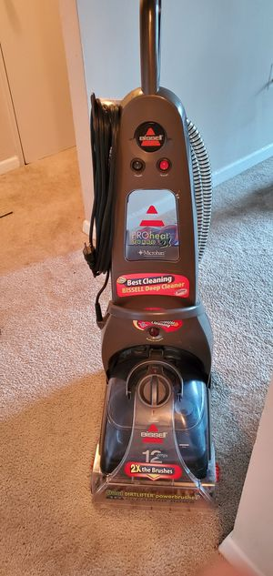 Bissell proheat 2x turbo microban for Sale in Falls Church, VA
