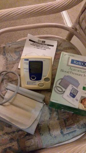 ReliOn Automatic Bllood pressure Monitor for Sale in Rancho Cucamonga, CA