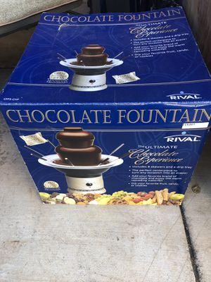 Chocolate-fountain fondue set for Sale in San Mateo, CA