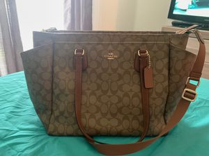Coach diaper bag for Sale in Tampa, FL