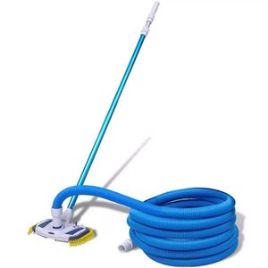 Pool Spa Cleaner Tool Vacuum Telescopic Pole and Hose Cleaning Maintenance Set for Sale in Houston, TX