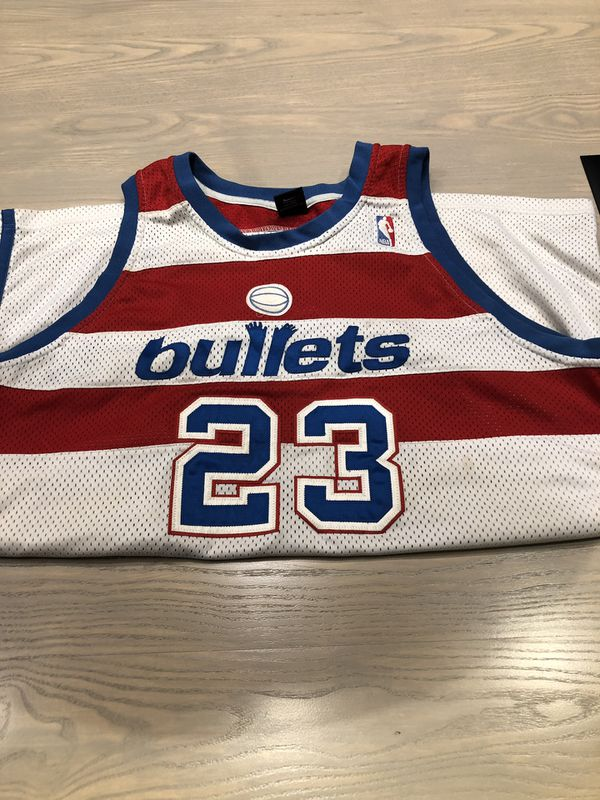 Michael Jordan Washington Bullets Jersey