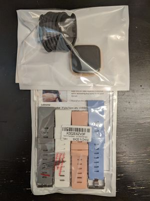 BRAND NEW FitBit Versa 2 with 4 bands for Sale in East Providence, RI