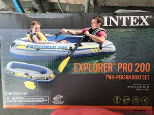 Boat - inflatable two person boat for Sale in Los Angeles, CA