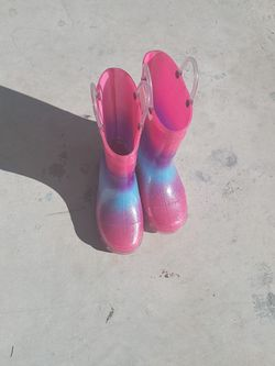 Girl Rain Boots Size 11 for Sale in Florida City,  FL