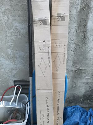 2 brand new bed frames All American frame &beddingcorp 25 each or 40 for both for Sale in San Diego, CA