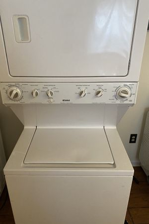Kenmore super capacity washer dryer combo FREE DELIVERY FOR HAMPTON for Sale in Hampton, VA