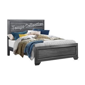 NEW IN THE BOX.STYLISH GREY QUEEN BED FRAME. SKU#TC1904GY-QUEEN for Sale in Santa Ana, CA