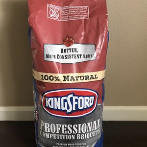 Kingsford competition briquettes 18lb brand new, charcoal for Sale in Vancouver, WA