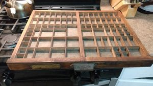 Wooden printers tray for Sale in Austin, TX