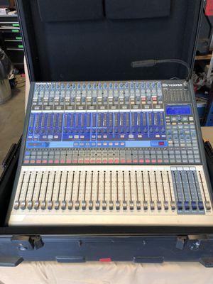 Presonus Studiolive 24.4.2 digital mixing console w/ case. for Sale in Portland, OR