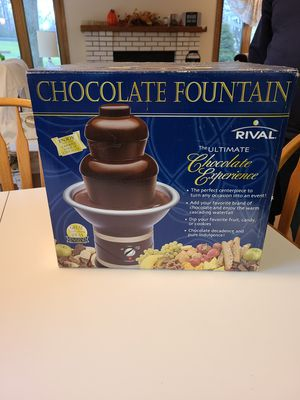 Chocolate 🍫 Fountain for Sale in Antioch, IL