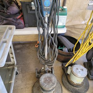 "2 Floor Machine Scrubbers. Sea Ray And Tornado 15"" for Sale in West Covina, CA"