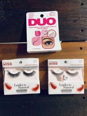 NEW Lashes & glue for Sale in San Antonio, TX