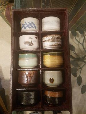 Sake cups (or fancy finger bowls!) for Sale in Rockville, MD