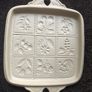 Brown Bag Cookie Art - Shortbread Mold - 1988 - Flowers & Berries for Sale in Chesapeake, VA