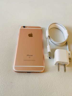 iPhone 6s rose gold 64gb unlocked (firm price) for Sale in Davie, FL