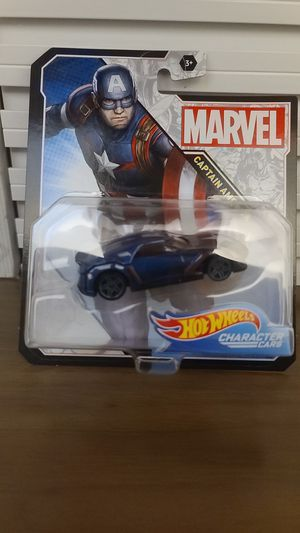 Captain America - Marvel Character Cars - Hot Wheels for Sale in Chula Vista, CA
