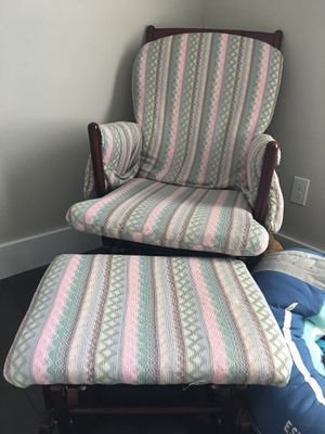 Glider and ottoman/foot rest for Sale in Gulf Breeze, FL