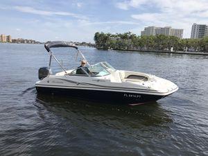 Boat Hurricane 188 deck boat includes trailer for Sale in Boca Raton, FL