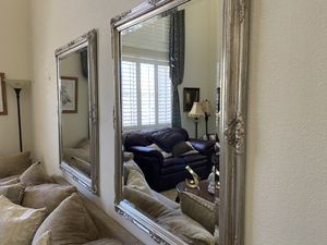 3 Large Ornate Antique looking Wall Mirrors for Sale in Henderson, NV