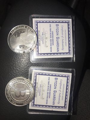 Bitcoin.999 Fine Silver $5,232-$10,000 A piece for Sale in Beaverton, OR
